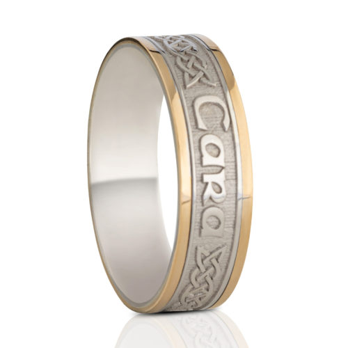 6.5mm Mo Anam Cara Wedding Ring