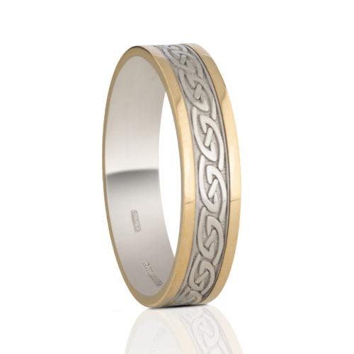 5mm Celtic Waves Wedding Ring