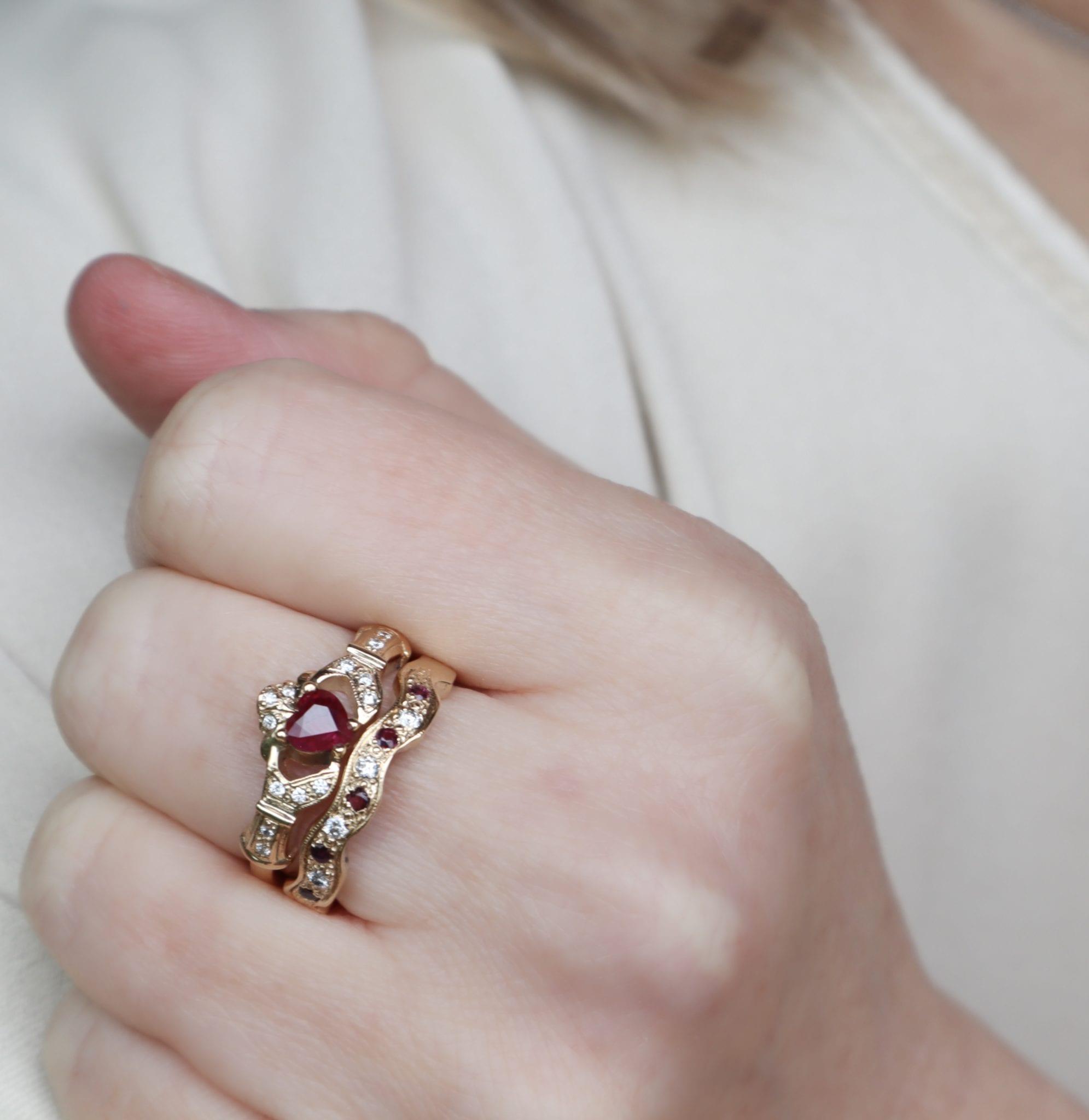 Claddagh Ring - Boru Jewelry
