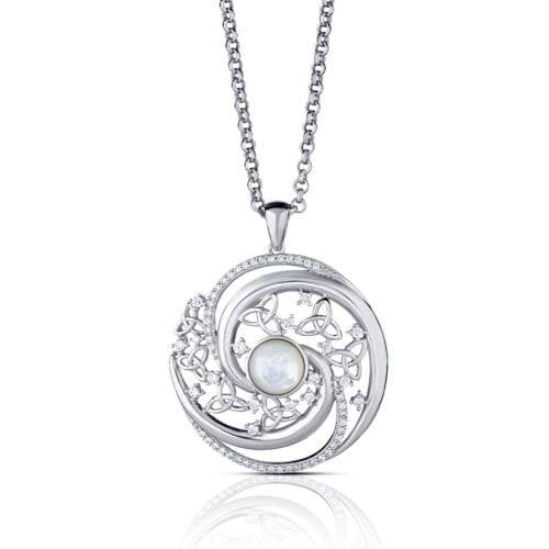 Arian Celtic Swirls Large Pendant